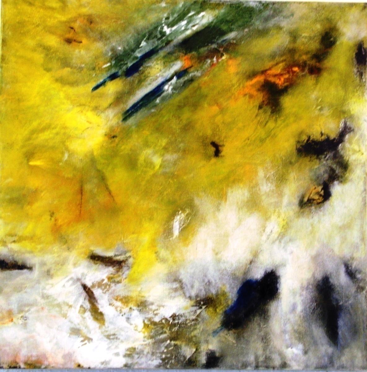 ohne Titel-gelb - Jakira
