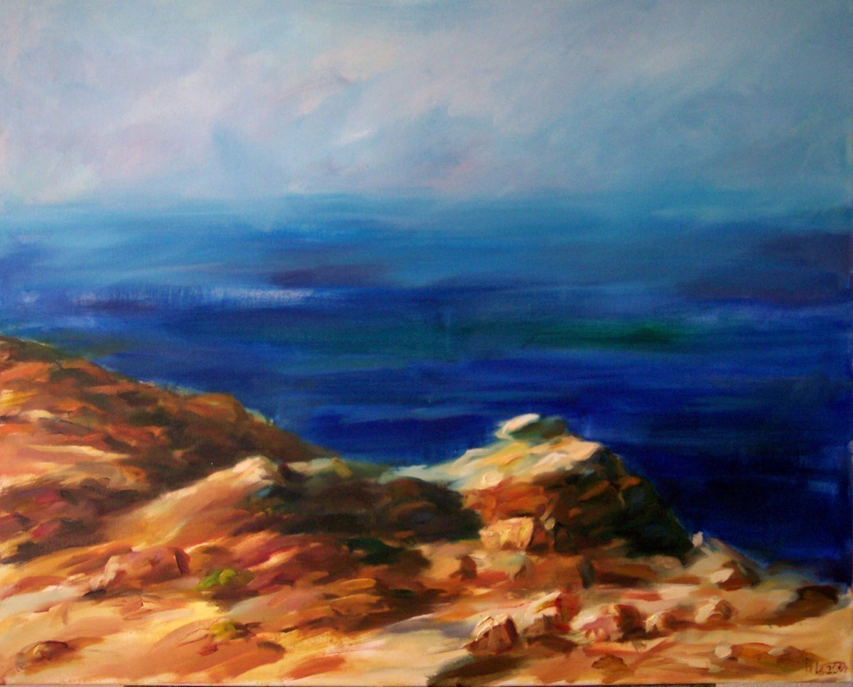 Griechische Strandlandschaft - Jakira