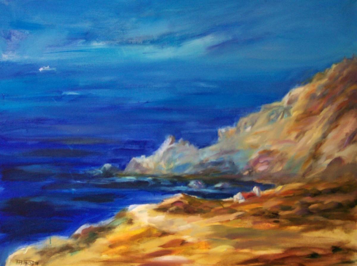 Landschaft Bei Mykonos