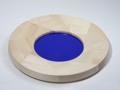 Middle ringschale deep blue holz objekt